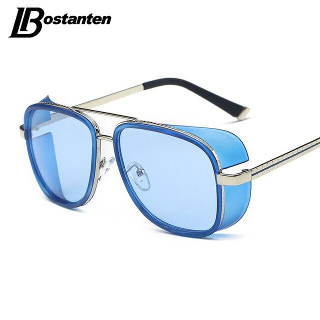 acfbab118206b Homem de ferro 3 Homens Steampunk Óculos De Sol Tony Stark Homem De Ferro  Matsuda OversizedSunglasses