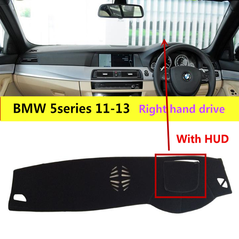 Taijs Car Dashboard Rug Pad For BMW 5series 2011 2013 With