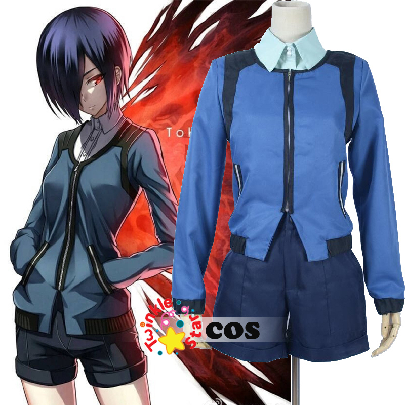 все цены на hot anime Cosplay Tokyo Ghoul Touka Kirishima Cosplay Costume halloween costume for adult women Kirishima Touka costume