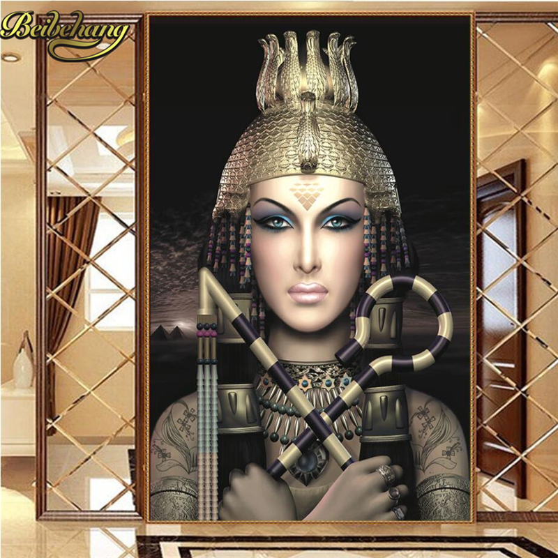 Beibehang Queen Of Egypt Custom Mural Wallpaper For Bedroom Walls 3D Luxury TV Background Wall Papers Home Decor For Living Room