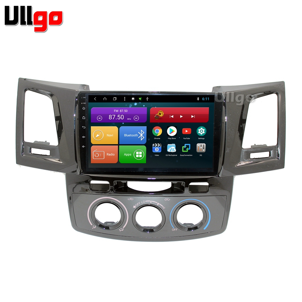 9 inch Octa Core Android 8 1 Car DVD GPS for Toyota Hilux Vigo Fortuner Autoradio