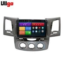 9-дюймовый Восьмиядерный Android 8,1 автомобиль DVD gps для Toyota Hilux Виго Fortuner автомобильное радио с gps Автомагнитола с BT, RDS WI-FI зеркало-link