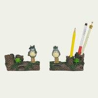Mon Voisin Totoro Ornements Totoro Figurine Résine Miyazaki Hayao De Stockage De Papeterie Crayon Titulaire Le Décor de Bureau Artisanat L397