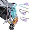 2 PCS Brinquedos Do Bebê Do Algodão Anti Perdido Tiras De Carrinho Versão Estendida Tiras De Carrinho Com Fechos de Botão Sophiedeer Parceiro 70Z2010