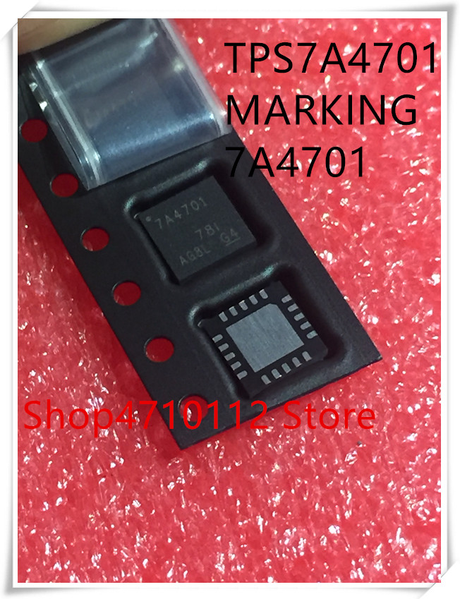 NEW 5PCS/LOT TPS7A4701RGWR TPS7A4701 MARKING 7A4701 QFN-20 IC