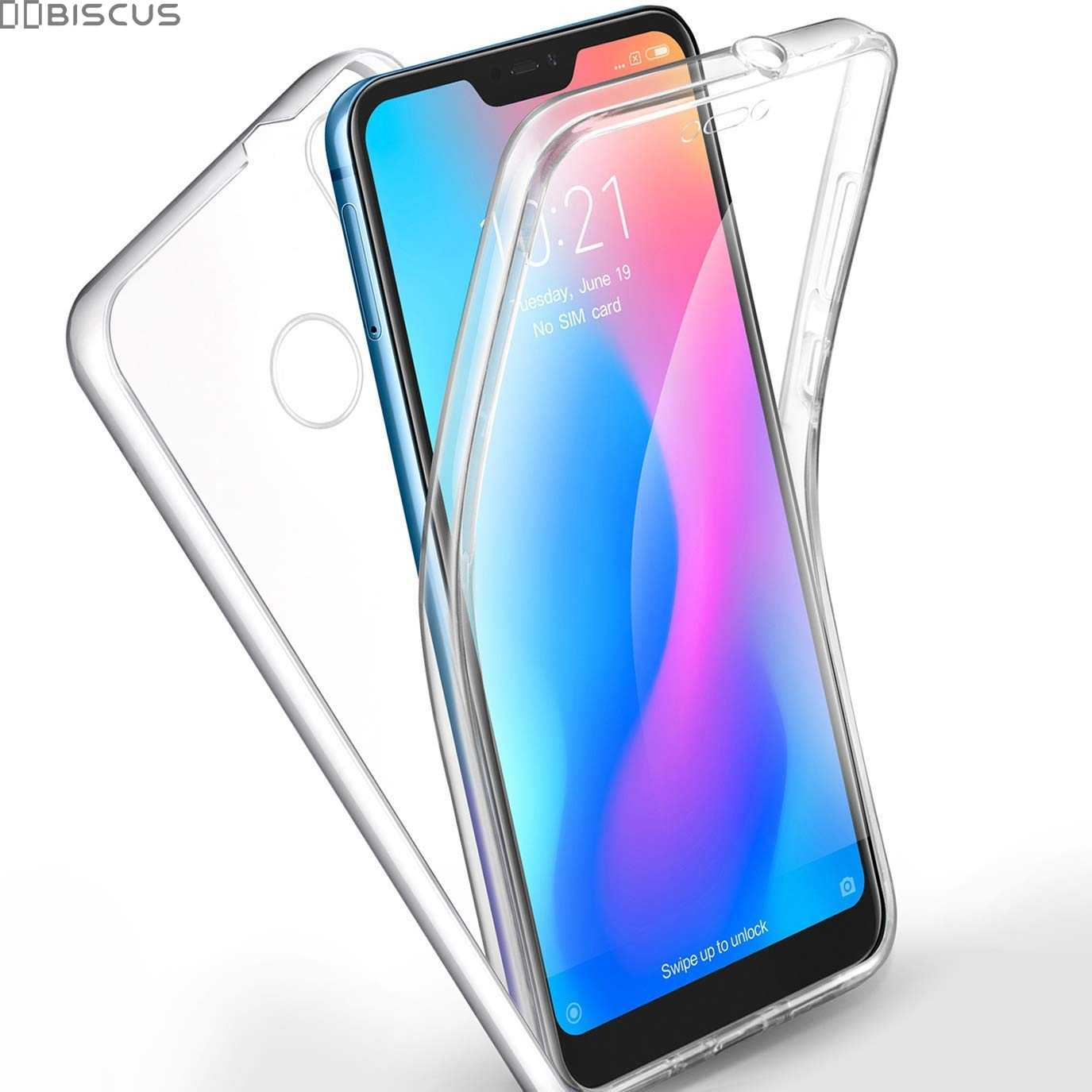 Full Body Case for Xiaomi Mi A2 Lite A1 8 SE A3 TPU Cover on Xiaomi Redmi Note 5 Pro Note 7 4 Global 4X Redmi 7A 6A 5 Plus 5A 6