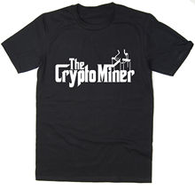 The Crypto Miner – T-Shirt – Godfather Spoof – cryptocurrency bitcoin BTC mining