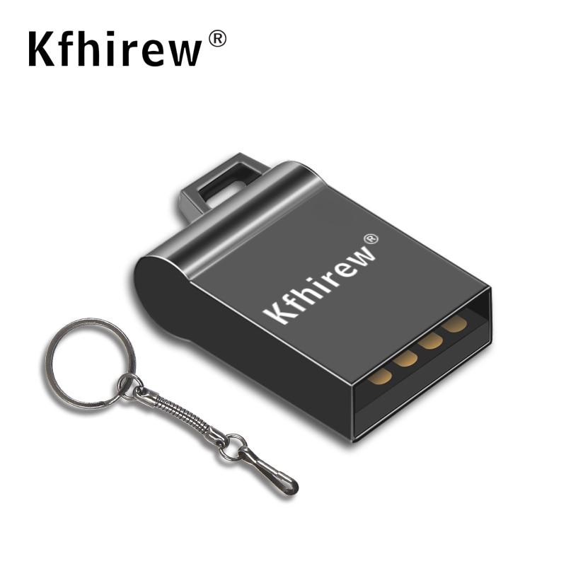 Large Capacity Mini USB 2.0 Flash Drives 64GB 32GB 16GB Usb stick Easy to carry Usb Flash Drive 128GB Waterproof U disk for Car|USB Flash Drives| |  - title=