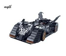 mylb The Tumbler BatMobile Compatible Super Heroes Batman Building Blocks Toys For Children DIY dropshipping