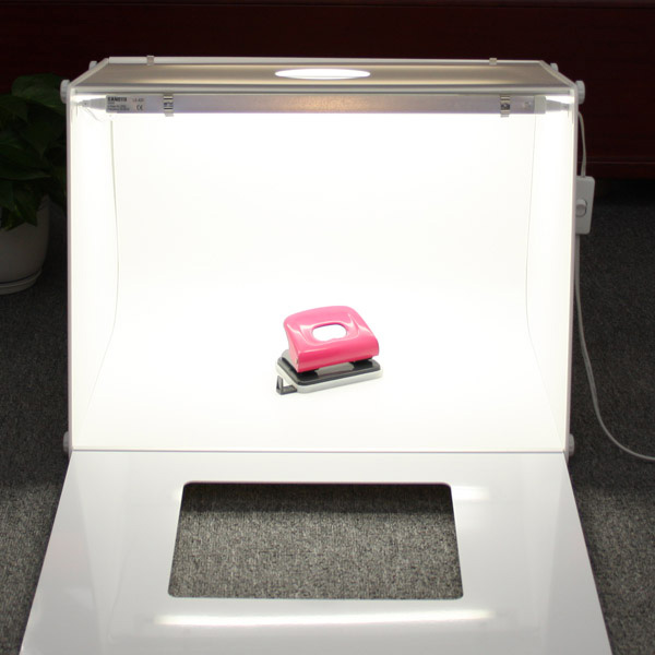 MK50 Portable Photo Studio Box Light Tent Foldable Photography Studio Kit with LED Light CD50
