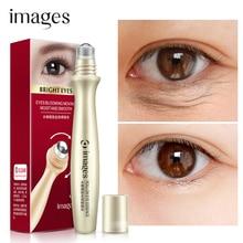 IMAGES Hyaluronic Acid Serum Eye Cream Anti-Puffiness Aging Remove eye bag Wrinkles Dark Circle roll-on applicator Eye Care цена