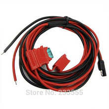 NEW 3M Radio Power Cable for Radio Walkie Talkie M'o't'o'r'o'l'a Mobile Radio GM300 GM3188 CM140 CDM750 PRO3100