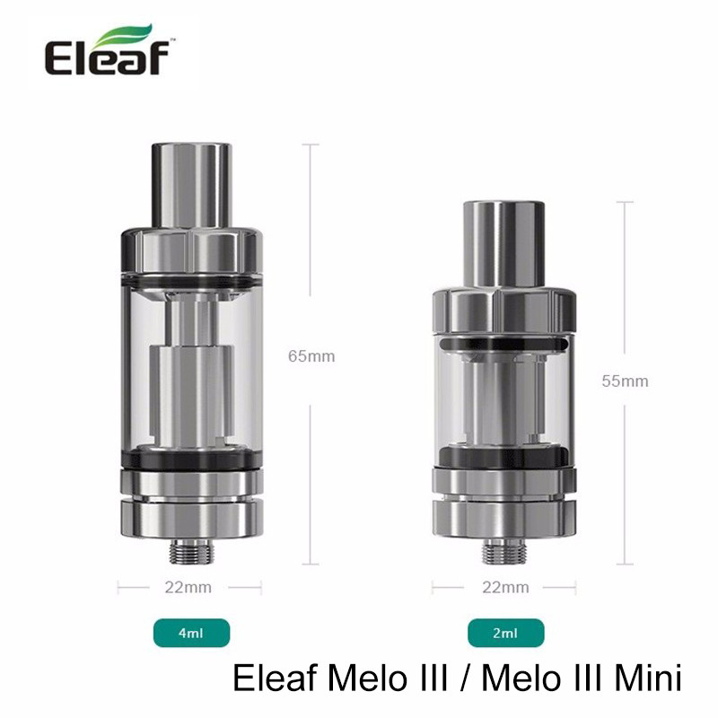 Melo 3 Mini Tank Detachable Structure 2ml/4ml Top-filled For Eleaf Istick Pico Kit Melo 3 Atomizer 2019 New Style Original Eleaf Melo 3 Electronic Cigarettes