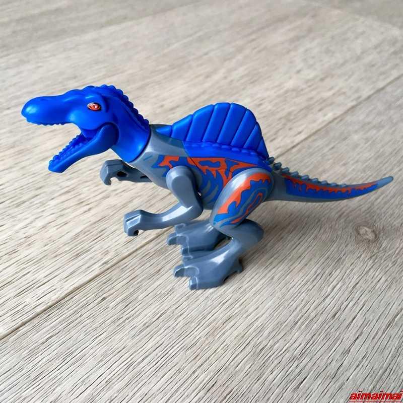 Bloqueio Mundo 2 Jurassic Park dinossauros Figuras Tijolos de Construção DIY Brinquedos Para As Crianças Presentes de Aniversário de Natal Travamentos do Dinossauro