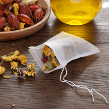 Newest 2 Sizes 100PCS/Lot Empty Tea Bag 7 x 9CM Scented Teabags With String Heal Seal Filter Bags for Herb Loose