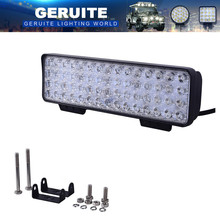 4PCS GERUITE 180W LED Spotlight Car Lights For Truck SUV Boating Hunting Fishing IP67 Waterproof Work Light 60 LEDs SpotLights