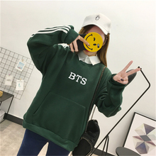 BTS Striped Colorful Sweatshirts (3 Colors)