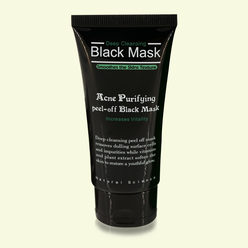 Blackhead Remove Facial Masks Black Mask Bamboo Charcoal Face Mask Original package Remove black head acne Moisturize in Treatments Masks from Beauty Health