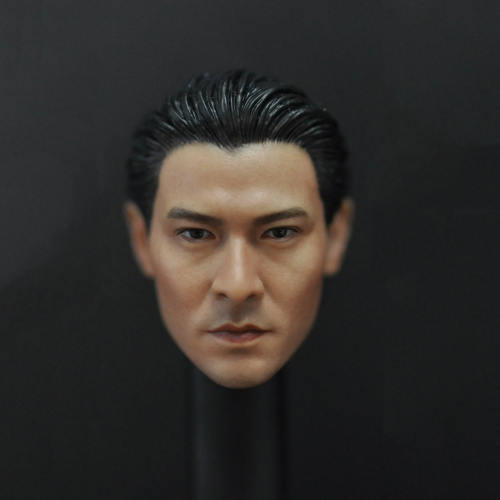 1 6 China Asia Movie Star DeHua Liu Male Head Sculpt Andy Lau Head Model F 12 39 39 Action Figure Collection Toys Gift in Action amp Toy Figures from Toys amp Hobbies