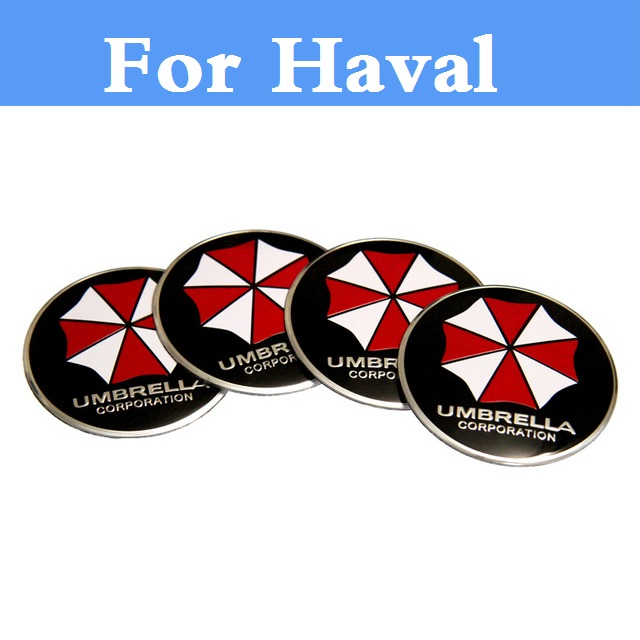 Car affixed wheel hub stickers decal styling decoration sticker for haval haval h2 h3 h5 h6