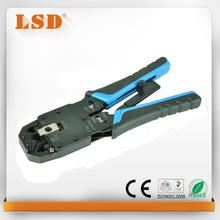 LT-200R 4P/6P/8P/10P UPT/STP network cable crimping tool cutting tool RJ10/11/12/22 RJ45 crimping tool(China)