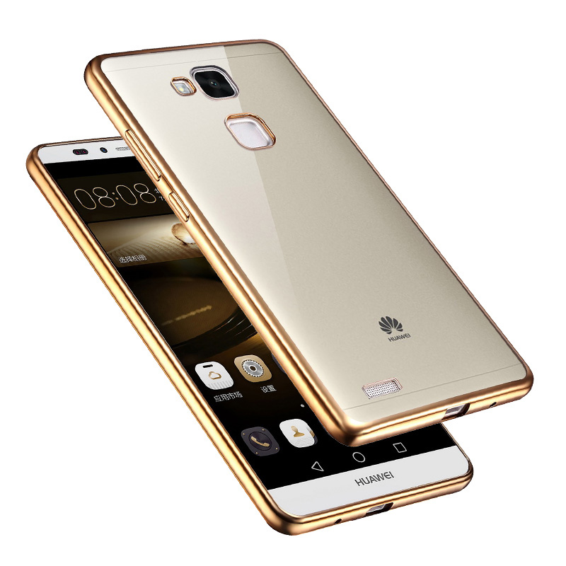 Crystal Clear Transparent Cover For Huawei Ascend Mate 7