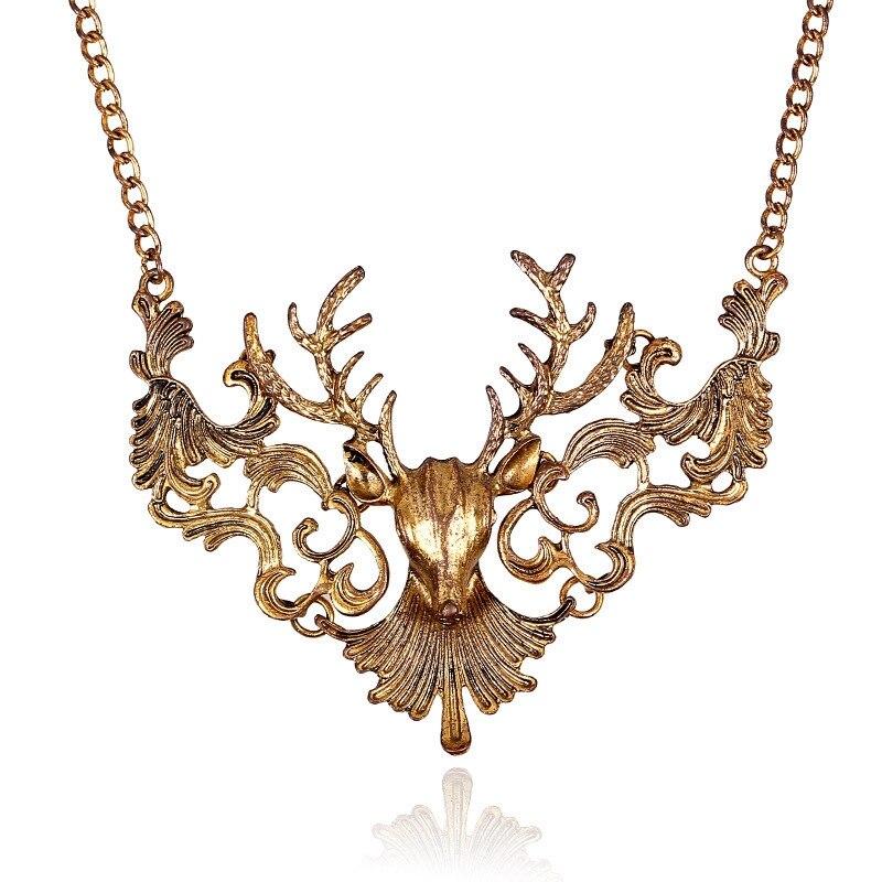 font b Best b font font b Deal b font Fashion Vintage Antique Elk Deer