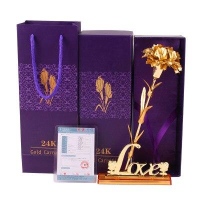 מתנה של ולנטיין, פרח זהב המאהב ציפורן - חגים ומסיבות
