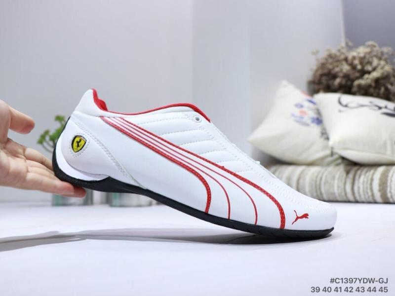 a4f53a8b493 PUMA Mens SF Original Futuro Gato Kart Kart Condução Calçados esportivos em  Branco Low top Lace up Tênis sapatos Tamanho Grande 39 45 em Tênis de  corrida de ...