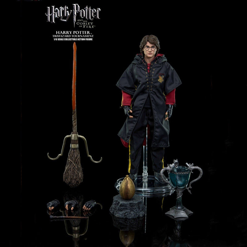 1/6 Scale Harry Potter (Tri-wizard Tournament Version) 29cm Collectible Action Figure Activity Doll Toys Gift star ace toys sa0001 the 1 6 scale young harry potter and the sorcerer s stone collectible action figure dolls gift collections