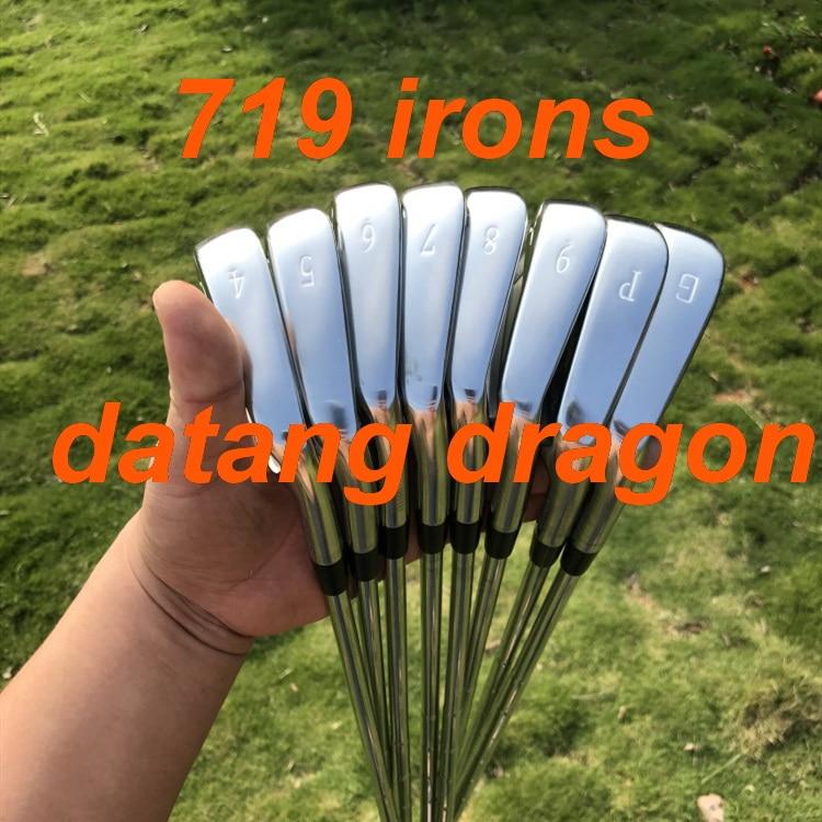 2019 Nuovi ferri da golf datang drago JPX 719 irons (4 5 6 7 8 9 P G) con Dynamic Oro S300 albero in acciaio 8 pcs JPX719 mazze da golf