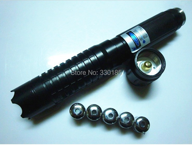 30 Watt 5in1 450nm Strong Military Blue Laser Pointer Light Burn Match Candle Lit Cigarette Wicked Lazer Torch+Glasses+Gift Box 100000mw 5in1 strong military blue laser pointer flashlight burn match candle lit cigarette wicked lazer torch 100watt glasses