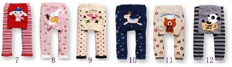 Акция, 18 шт. в партии, популярные детские штаны на подгузник, 36 цветов Штаны для мальчиков и девочек детские леггинсы - Цвет: Group B 7 to 12
