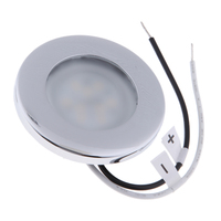dome lamp Stainless Steel 12V Car Round Ceiling Dome Roof Interior Light Lamp Marine Hardware Vehicle Accessories (2)