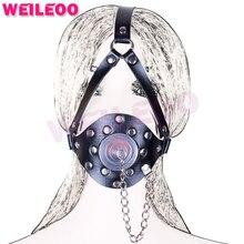 harness oral sex plug open mouth gag ball adult sex toys bdsm bondage set fetish slave
