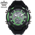 Diving Sport Watches Men Dual Time LED Digital Watch Outdoor Sports Watch Military Army Wristwatch WS1349