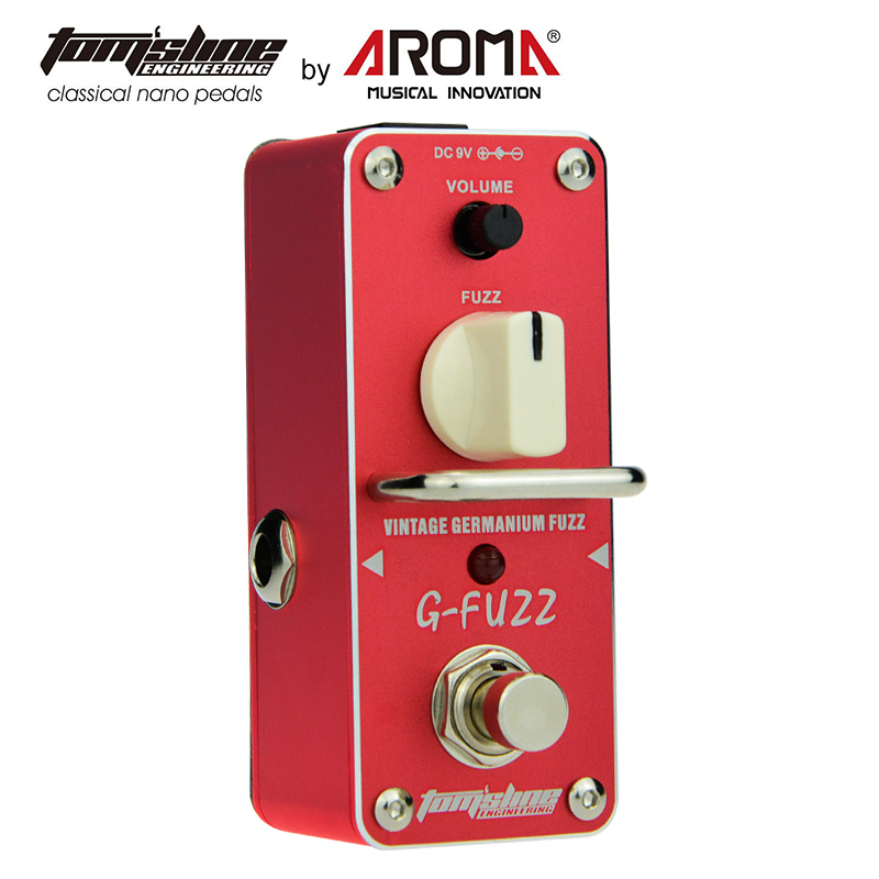 AROMA AGF-3 Guitar Pedal Fuzz Guitar Effect Pedal Vintage Germanium Mini Analogue True Bypass Guitar Parts & Accessories image
