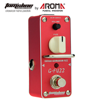 AROMA AGF 3 Guitar Pedal Fuzz Guitar Effect Pedal Vintage Germanium Mini Analogue True Bypass Guitar Parts & Accessories
