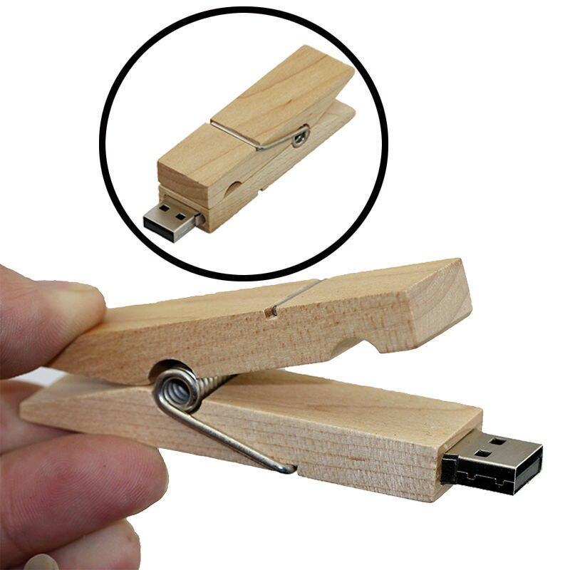 Wooden personality creative gift customized wood USB flash font b drive b font u disk USB2