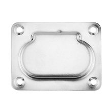 Handle Lift Cabinet Stainless Steel Spring Recessed Hatch Fitting Pull Ring Silver Flush Durable Marine Locker Hardware Boat