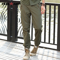 Brand Clothing Men Pants Army Green Military Tactical Pants 2017 Spring and Summer New Cargo Pants Military Style MK-7179A