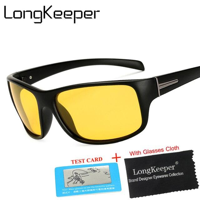 Polarizado Gafas Visión Faro Para De Nocturna Longkeeper 9IYH2WED