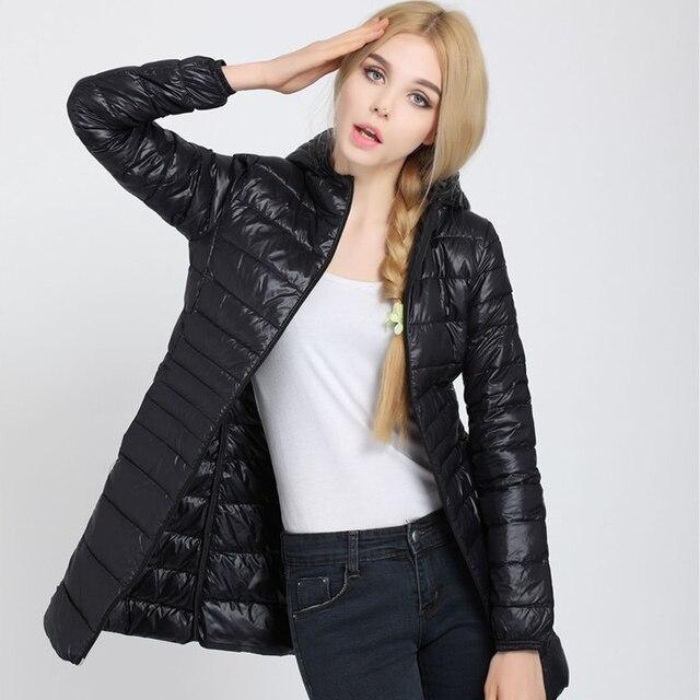 Γυναικείο παλτό χειμερινό με κουκούλα και επένδυση μακρύ 5xl 6xl 7xl