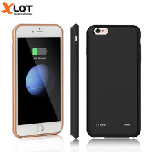 Xlot 7 Battery Case 3700 mAh Slim Ultra Thin Smart battery charge Case For iPhone 7 Plus Power Case Luxury Black Rose Gold cover