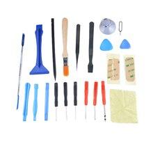 22 in 1 Mobile phone repair tools kit Open Pry Tool Set For repairing phones Instruments Tablet Cell Phone Screwdrivers Sucker