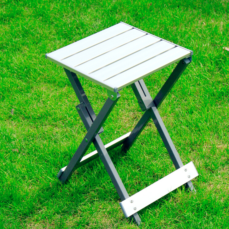 2016 New Household portable counter stools fishing stool beach leisure park barbecue small stool aluminum metal folding chairs bamboo bamboo portable folding stool have small bench wooden fishing outdoor folding stool campstool train
