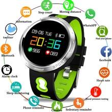 New Smart bracelet  IP67waterproof Social Information Reminder fitness Tracker Smart band sleep Monitor Blood Pressure Watch