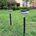Movido A Energia Solar LEVOU Holofotes Jardim Ao Ar Livre Paisagem Stake Luz Iluminação Da Trilha Iluminação Local-À Prova D' Água-Luz de Parede Exterior