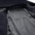 Mens Jaqueta de Inverno Longo de Lã dos homens Botão Da Buzina Com Capuz Sólida lã Casaco Quente Casaco Outwear Para Homens XXL Preto Casual inverno