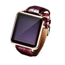 Bluetooth Smartwatch L1S Männer Frauen Armbanduhr SIM Tf-karte Einsetzen anti-verlorene Call Reminder Watch Phone Kamerad für Android IOS